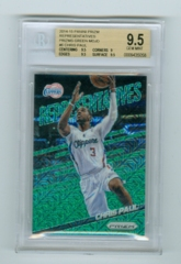 2014-15 Panini Prizm Representatives Prizms Green Mojo #6 Chris Paul #10/25 BGS 9.5