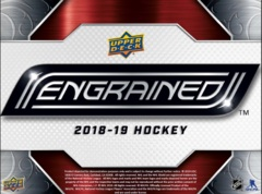 2018-19 Upper Deck Engrained Hockey Hobby Box- Call for Pricing & Availability