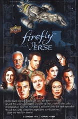 2015 Upper Deck Firefly: The Verse Hobby Box