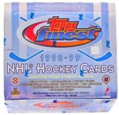 1998-99 Topps Finest Hockey Hobby Box