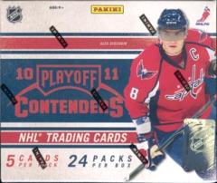 2010-11 Playoff Contenders Hockey Hobby Box