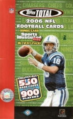 2006 Topps Total Football Hobby Box