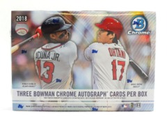 2018 Bowman Chrome Baseball HTA Choice Box