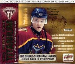 2001-02 Pacific Private Stock Titanium Hockey Hobby Box