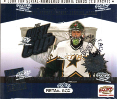 2002-03 Pacific Quest for the Cup Hockey Retail Box