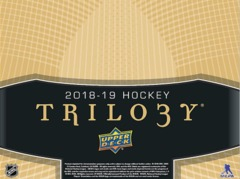 2018-19 Upper Deck Trilogy Hockey Hobby Box- Call for Pricing & Availability