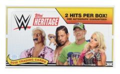 2018 Topps Heritage WWE Hobby Box