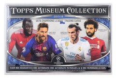 2018 Topps UEFA CL Museum Collection Soccer Hobby Box