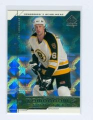 1999-00 SP Authentic Tomorrow's Headliners #TH02 Joe Thornton