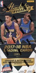 2017-18 Panini Absolute Basketball Hobby Box
