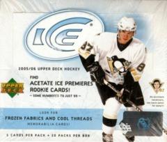 2005-06 Upper Deck ICE Hockey Hobby Box