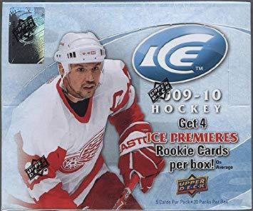 2009-10 Upper Deck Ice Hockey Hobby Box