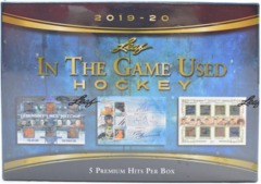 2019-20 Leaf In The Game Used Hockey Hobby Box
