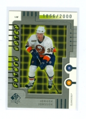 1999-00 SP Authentic #109 Jorgen Jonsson #/2000 (Rookie)
