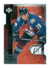 1997-98 Black Diamond Premium Cut Double Diamond #PC29 Joe Sakic