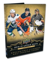 2018-19 Upper Deck Series 1 Hockey Starter Kit