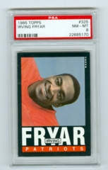 1985 Topps #325 Irving Fryar (Rookie) PSA 8