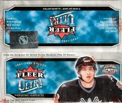 2005-06 Fleer Ultra Hockey Retail Box