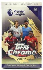2018-19 Topps Chrome Premier League Soccer Hobby Box