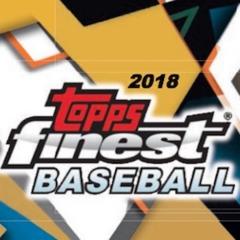2018 Topps Finest Baseball Hobby Mini Box