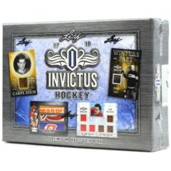 2017-18 Leaf Invictus Hockey Hobby Box
