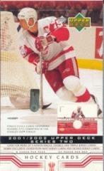 2001-02 Upper Deck Series 2 Hockey Hobby Box