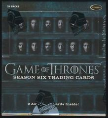 2017 Rittenhouse Game of Thrones Season 6 Hobby Box