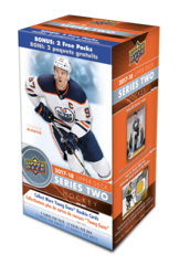 2017-18 Upper Deck Series 2 Hockey Blaster Box