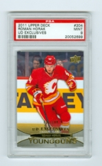 2011-12 Upper Deck Exclusives #204 Roman Horak PSA 9