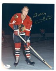 Bobby Hull Signed 8x10 (Image #1)