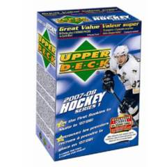 2007-08 Upper Deck Hockey Series 1 Blaster Box