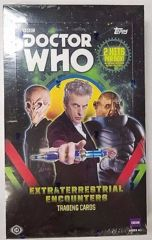 2016 Topps Doctor Who Extraterrestial Encounters Hobby Box