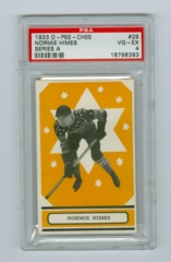 1933-34 O-Pee-Chee V304A #29 Normie Himes (Rookie) PSA 4