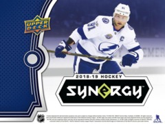 2018-19 Upper Deck Synergy Hockey Hobby Box- Call For Pricing & Availability
