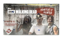 2018 Topps The Walking Dead: The Hunters and the Hunted Hobby Box