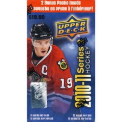 2010-11 Upper Deck Hockey Series 2 Blaster Box