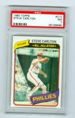 1980 Topps #210 Steve Carlton PSA 7