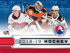 2018-19 Upper Deck AHL Hockey Hobby Box- Call for Price & Availability