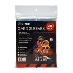 Clear Card Sleeves for Standard Size Trading Cards - 2.5