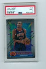1994-95 Finest #240 Grant Hill (Rookie) PSA 9