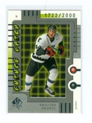 1999-00 SP Authentic #126 Kristian Kudroc #/2000 (Rookie)