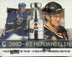 2002-03 BAP Memorabilia Hockey Hobby Box
