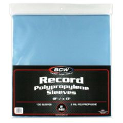 33 RPM Record Sleeves 100ct