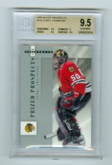 2005-06 Hot Prospects #116 Corey Crawford #0399/1999 (Rookie) BGS 9.5