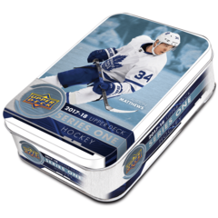 2017-18 Upper Deck Series 1 Hockey Tin