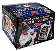 2018 Topps Baseball Sticker Collection Box (50 Packs)