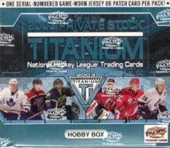 2002-03 Pacific Private Stock Titanium Hockey Hobby Box