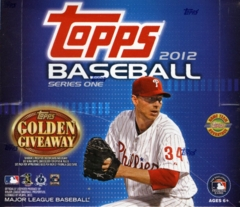 2012 Topps Series 1 Baseball Jumbo HTA Box