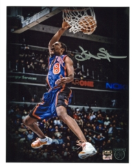 Latrell Sprewell Signed 8x10