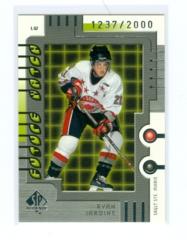 1999-00 SP Authentic #131 Ryan Jardine #/2000 (Rookie)
